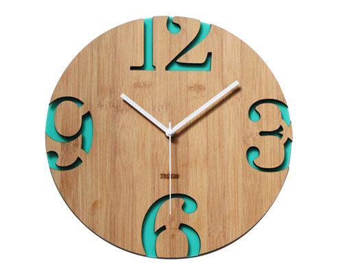 Relógio ecológico 2 Peças