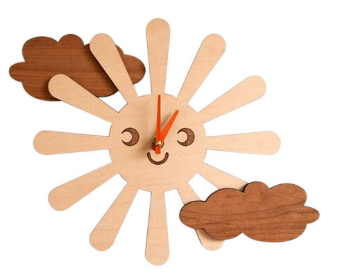 Relógio ecológico Sol