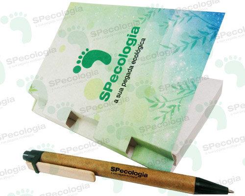 Caderno Papel Reciclado