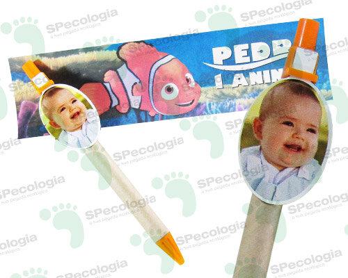 Caneta ecológica com Clips infantil