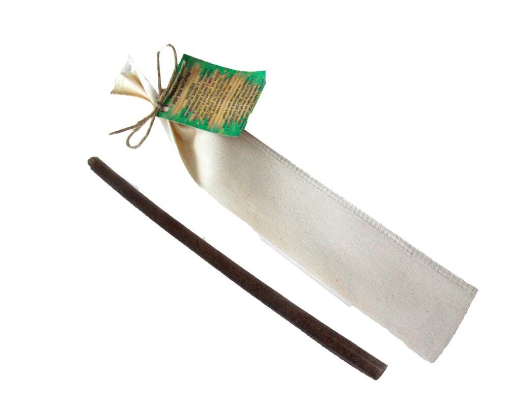 Canudo Fibra de Coco com Escovinha
