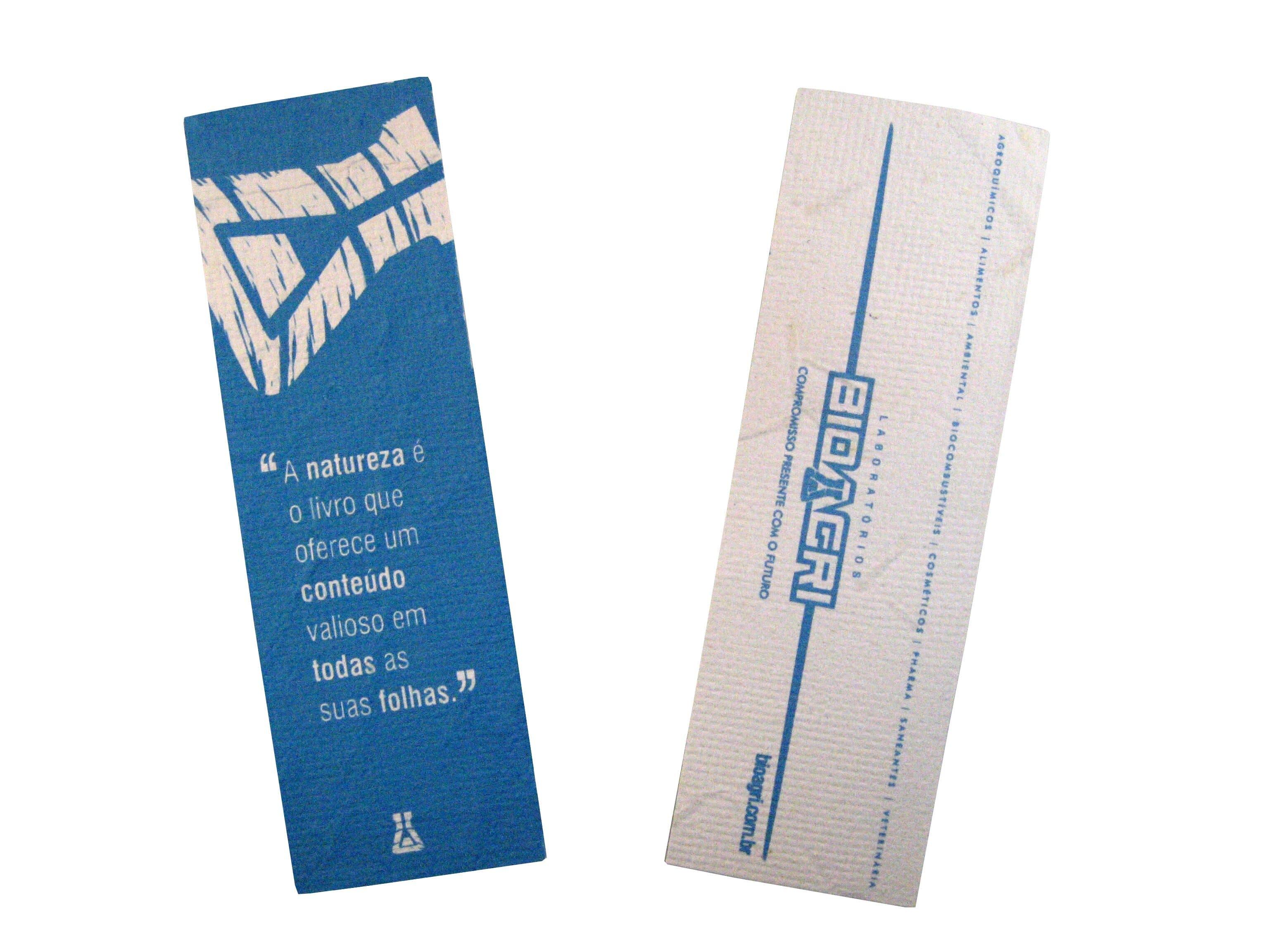 Papel semente 18 x 5 cm