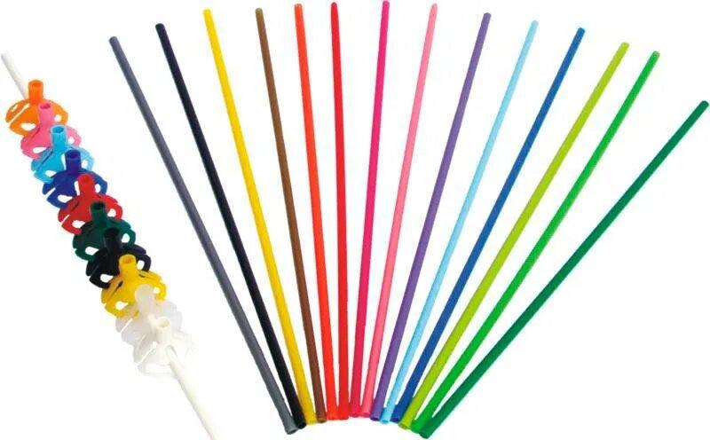 Varetas Biodegradáveis para Balões