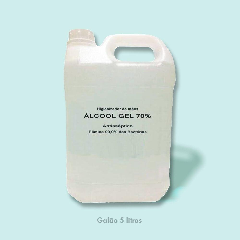 Galão Álcool em Gel 5 litros