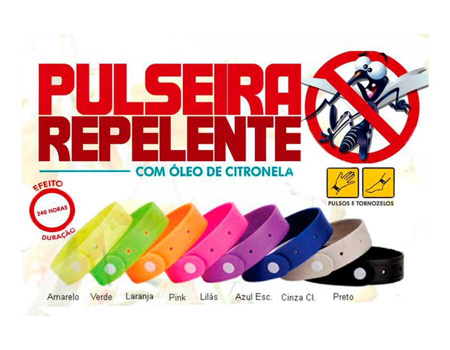 Pulseira Repelente